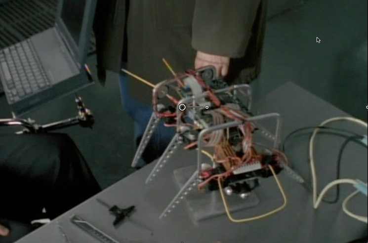 Screenshots from the X-files X Files Robot Insects