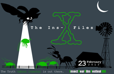 30th Insect Fear Film Festival X Files Robot Insects